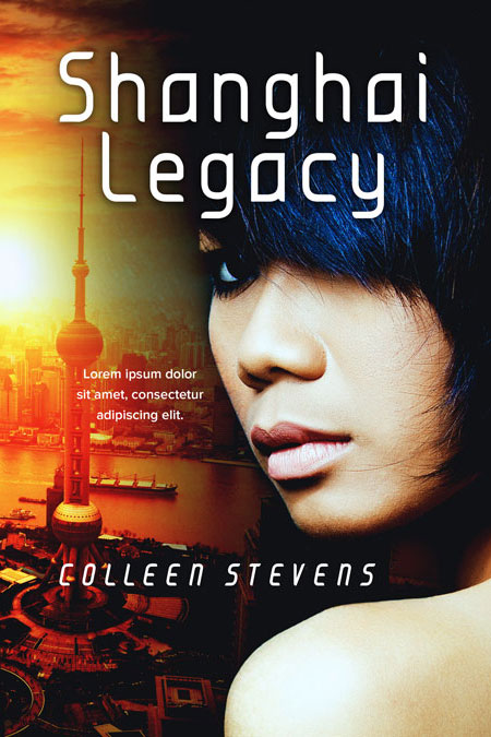 Shanghai Legacy Premade Book Cover