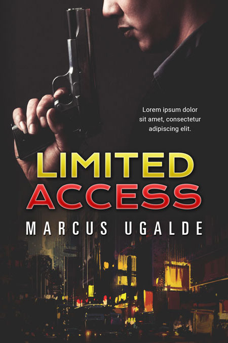 Limited Access Premade Book Cover
