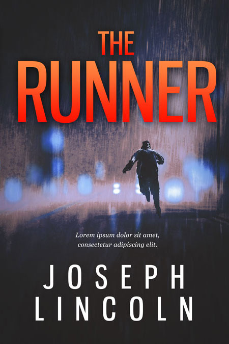 The Runner Premade Book Cover