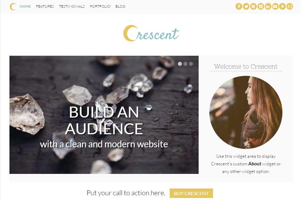 Crescent theme