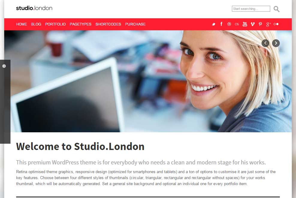 Studio.London theme