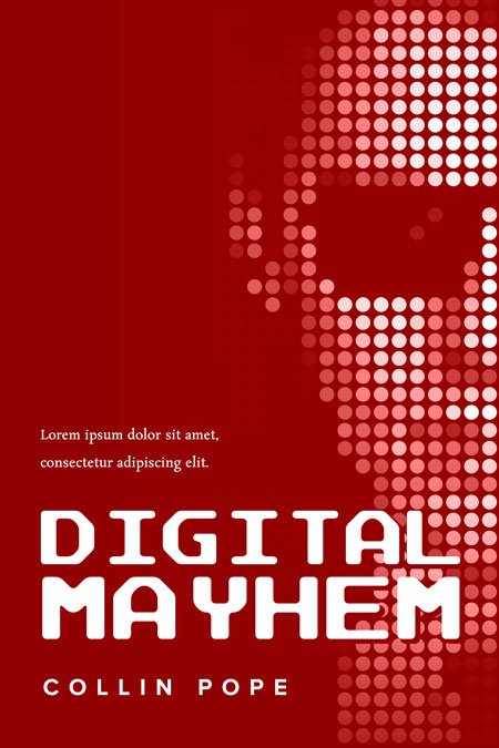 Digital Mayhem Premade Book Cover